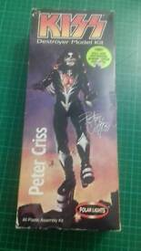 Kiss Peter Criss model kit figure