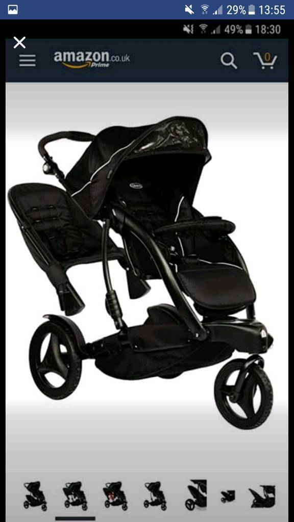 Pushchair Graco Trekko Duo Deluxe