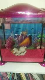 Mermaid fish tank