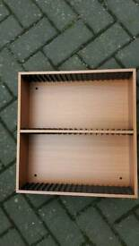 Hama Beech Wood DVD Storage Unit x 4