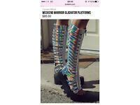 Womens Tall Gladiator Shoes