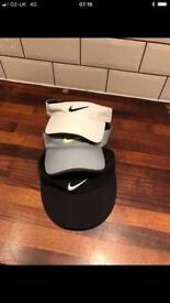 Nike golf visors