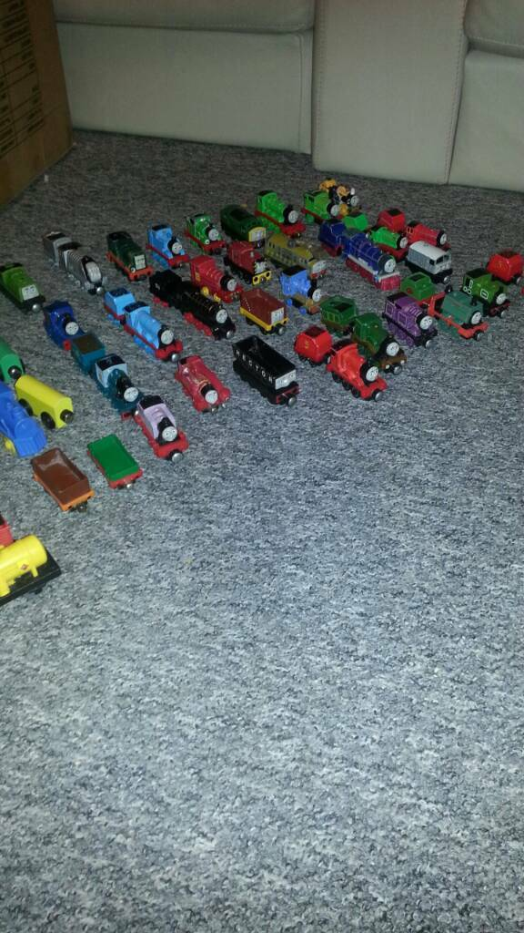 Bundle of trains mostly THOMAS AND FRIENDS