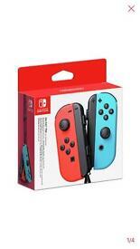 Nintendo switch joy-con controller Neon