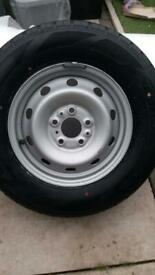 215/70r15c Brand new wheel and new tryre Off a boxer type van