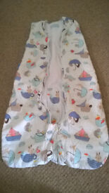Travel Grobag in Excellent Condition 2.5 Tog for 6-18 Month Old