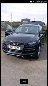 Audi q7 Limited Edition