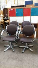 Hairdresser chairs available p