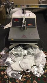 T-Shirt printer with lots of letters £250