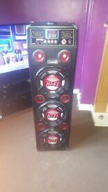 Karoke sound system