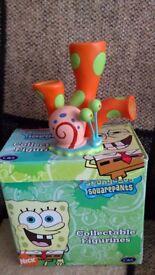 Spongebob squarepants ceramic figures