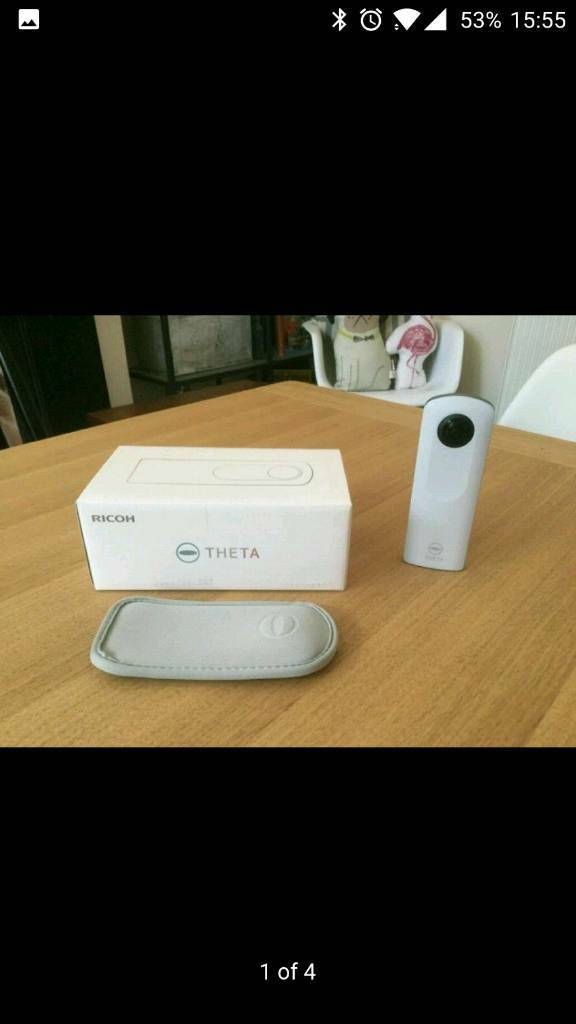 Ricoh theta SC 360 degree camera