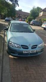 NISSAN ALMERA AUTOMATIC 2002 FULL YEAR MOT - NEED TO SELL QUICKLY