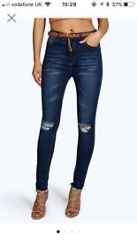 Size 8 high waisted jeans