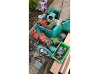 Petrol mower spares job lot