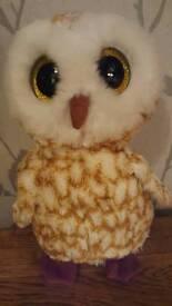 Ty beanie boo toy owl