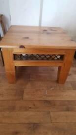 Oak Coffee Table 60x60