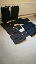 8 pair of dress trousers
