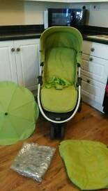 Mamas & Papas Luna Mix pram, pushchair