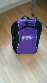 Leeds beckett backpack