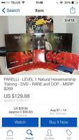 Parelli level one horsemanship DVD set