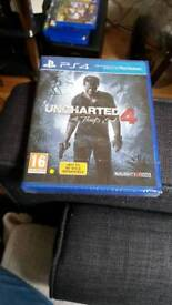 Uncharted 4 brand new sealed
