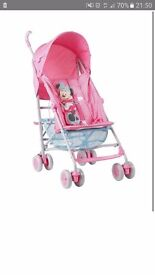 Minnie mouse jive stroller new