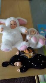 3 anne geddes babies