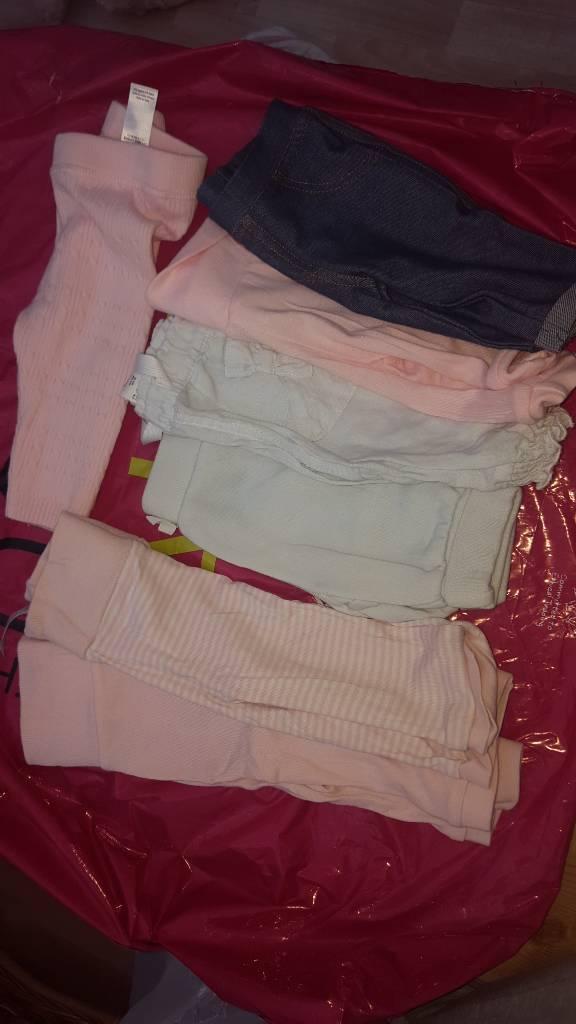 Bundle baby girls leggings/ jeggins