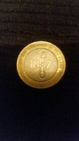 Rare even more rare as all errors included in both coins 1807 slavery n charles dickens rare coin