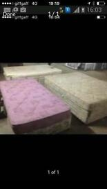 Free deliver double bed and single bed as seen in picture