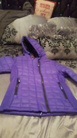 Ladies purple superdry jacket bnwt