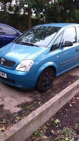 Vauxhall Meriva 1.6 8v 2004