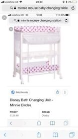 Disney Minnie Mouse baby changing unit