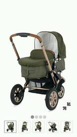 Mothercare Xpedior Limited Edition Rose Gold Khaki Travel System