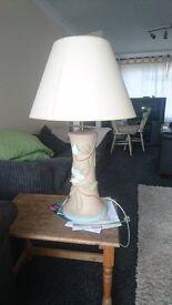 large lamp and shade