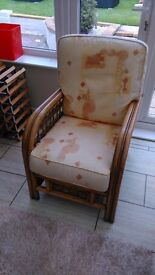 Conservatory arm chair