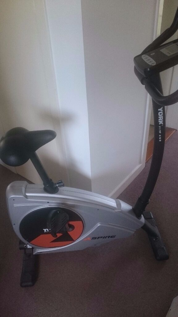 York fitness exercise bikein Plymouth, DevonGumtree - York fitness aspire electric exercise bike. Pre programmed exercise and cooldown settings. All working order. Not used as normally has clothes on it