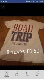 Boys t. Shirt 8 years