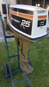 Johnson 25 hp Outboard Motor Glenelg North Holdfast Bay Preview