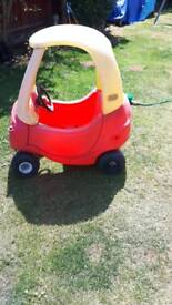 Cozy coupe kids car free to collector