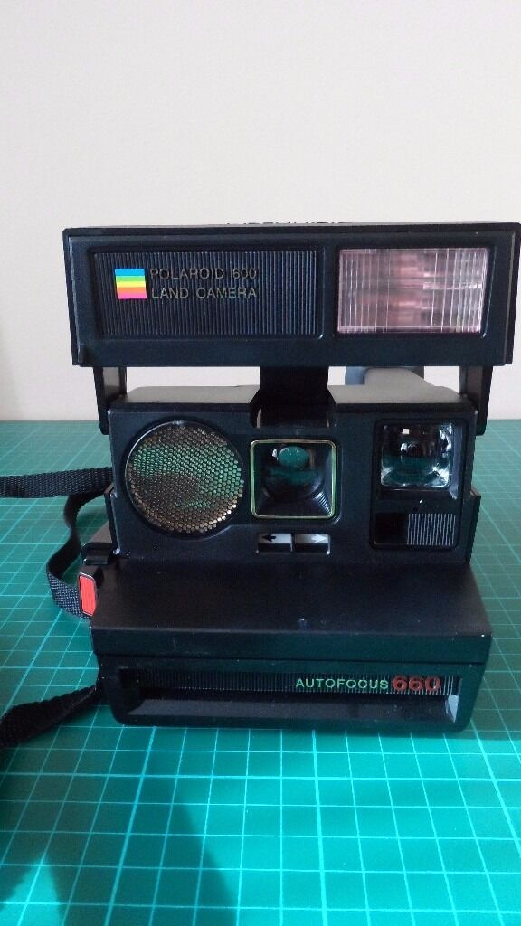 vintage polaroid sun 660 autofocus instant land camera in lostock hall lancashire gumtree. Black Bedroom Furniture Sets. Home Design Ideas