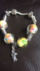 Handmade pandora style bracelet and other jewellery