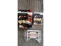 Wii F1 Game and Wheel