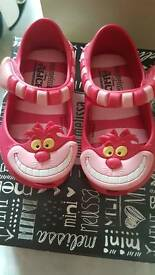 infany size 4 (eu 19) mini melissa shoes
