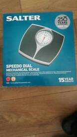 Salter bathroom scale mechanical - Brand new never used RRP £20
