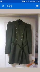 Ladies khaki coat size 16