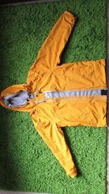 Weird Fish, L size,yellow waterproof spring/summer jacket,new