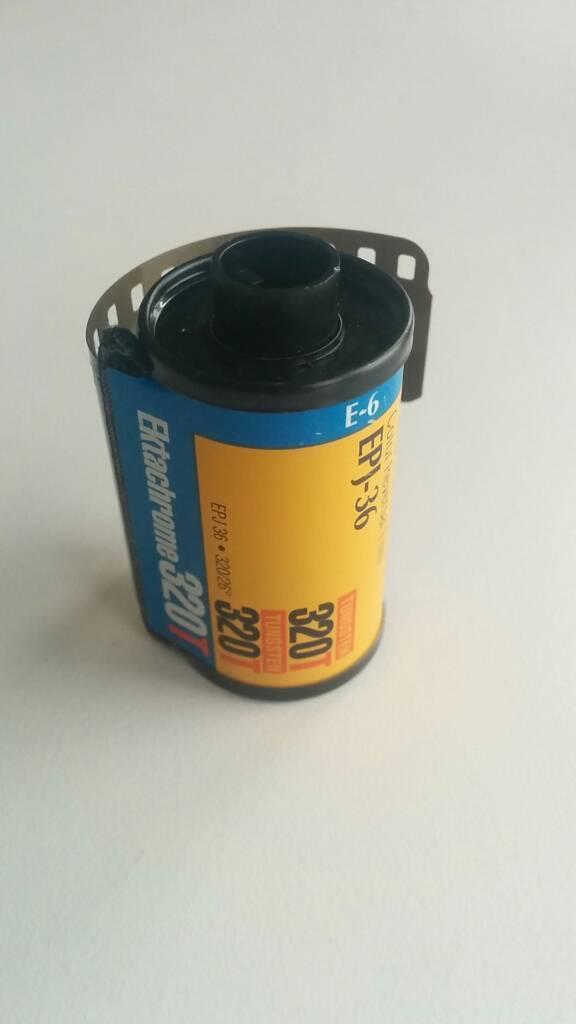 Kodak Ektachrome 320T expired