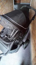 Graco 3 wheel Double Buggy
